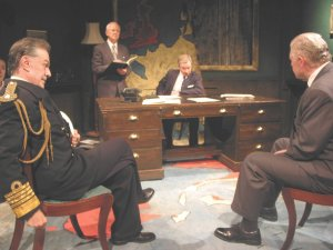Hayward Morse, Nigel Pegram, Jamie Newall and Kevin Quarmby in Eden's Empire